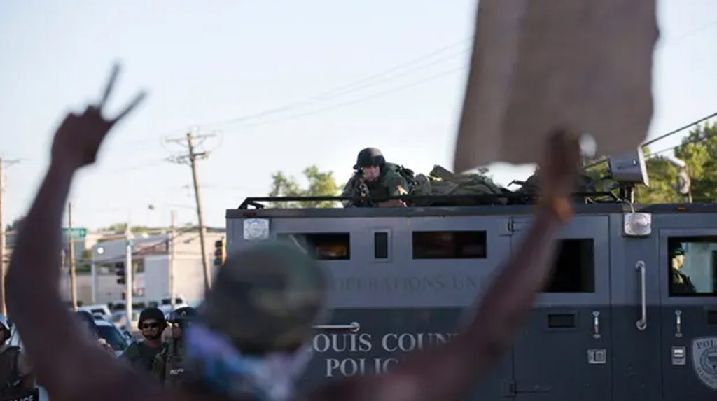 militarisation police usa